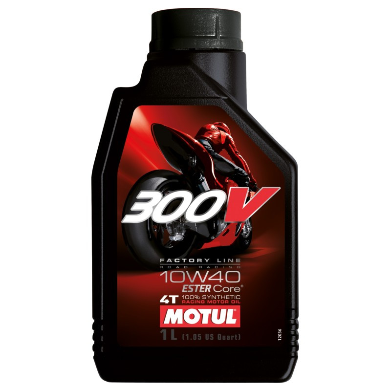 Motul Масло 300V 4T FACTORY LINE ROAD RACING 10W-40 (1 литр)